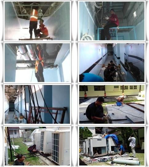 Project Installasi VRV RSUD Kanudjoso Balikpapan