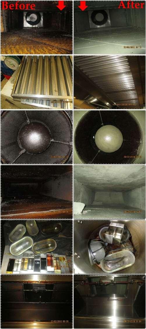 Jasa Installasi Service Fabrikasi Cleaning Pembersih AC Ducting Kitchen Dapur Hood Exhaust Filter Fan Blower Hard Rock Cafe Jakarta Jakarta
