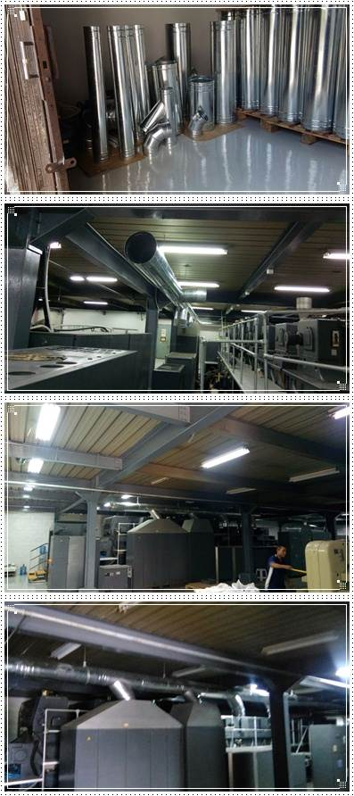 Jasa fabrikasi installasi cleaning ducting murah handal professional