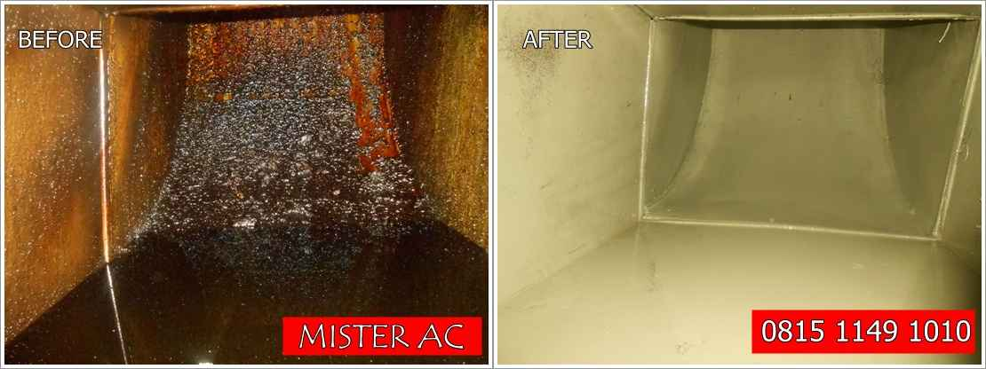 Vendor jasa cleaning ducting exhaust kitchen